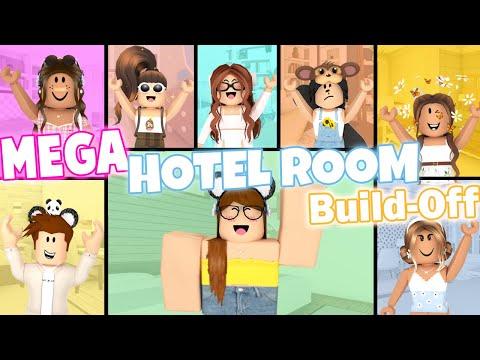 MEGA Hotel Room Build-Off! Panda V.s. 7 FANS!
