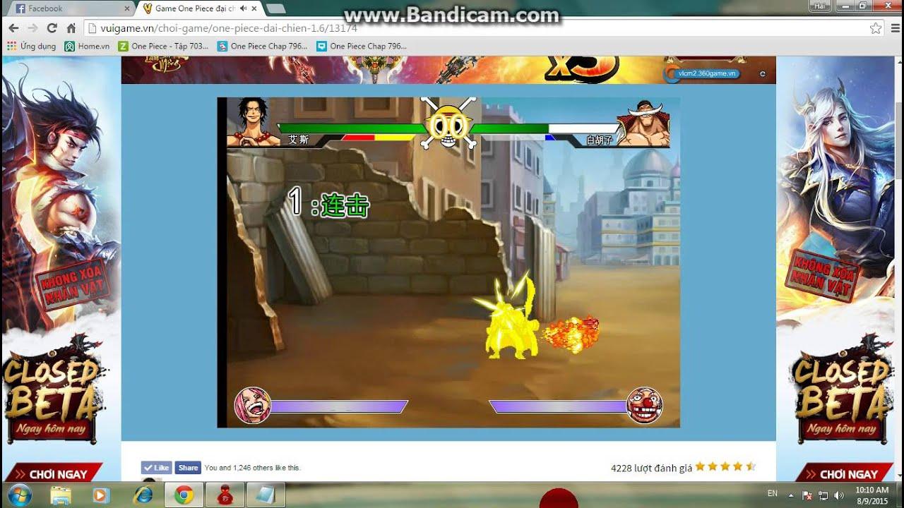 Hướng dẫn ra skill bí mật trong game one piece 1.6 - YouTube