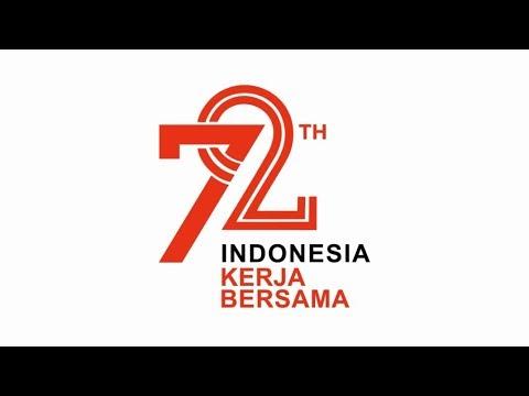 Dirgahayu 72 Tahun Indonesia - Simple Motion Graphics