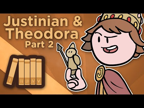 Byzantine Empire: Justinian and Theodora - II: The Reforms of Justinian - Extra History