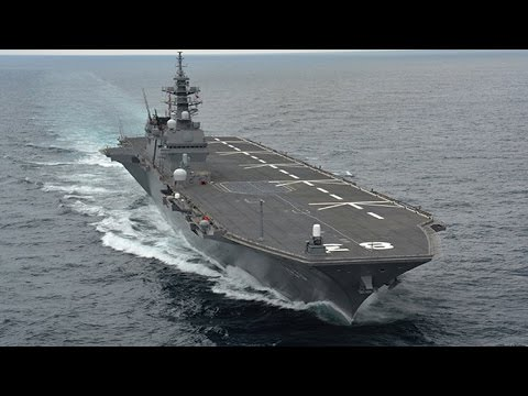 The military expansion ambition grows as Izumo destroyer enters Japanese Marine force 日本出雲號驅逐艦正式服役