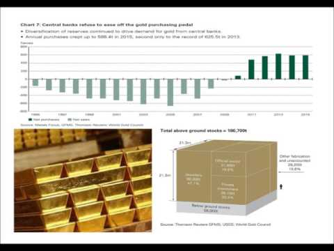 Central Banks Gold Buying Slows Down but is still positive