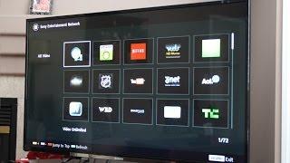 Sony 3D TV Smart Features Demo 2013-2014