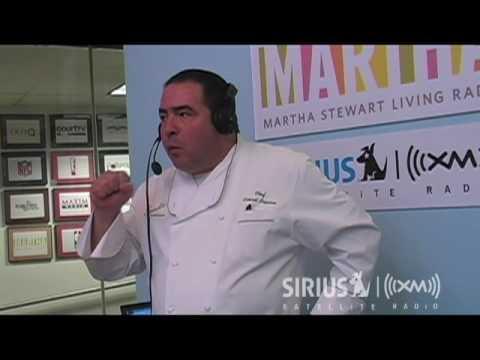 Emerils Quick, Easy Grilling Sauce, Live // SiriusXM