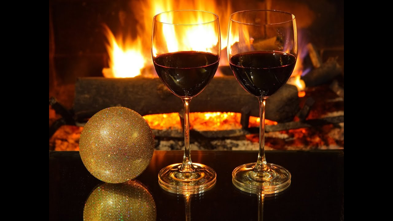 Romantic And Relaxing Piano Jazz Crackling Fireplace Relaxant
