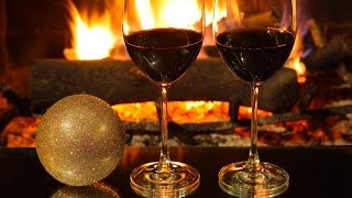 Romantic and Relaxing Piano Jazz & Crackling Fireplace ☆ Relaxant Piano Jazz & Cheminée Crépitante