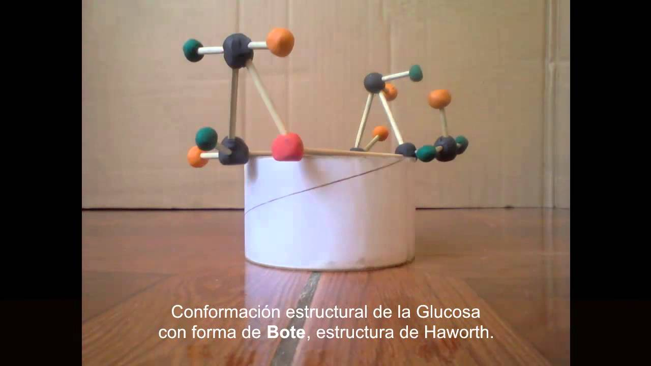 Mol cula de glucosa youtube for Sillas para una maqueta