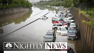 Texas Flash Floods: 'The Worst Thing I've Ever Seen' | NBC Nightly News