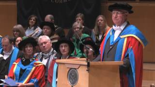 GCU presents Charles Berry an Honorary Degree of Doctor of Letters
