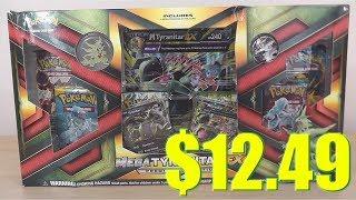Opening Pokemon Cards w/ Cheap Deals - Mega Tyranitar EX Premium Collection Box (6 Packs)