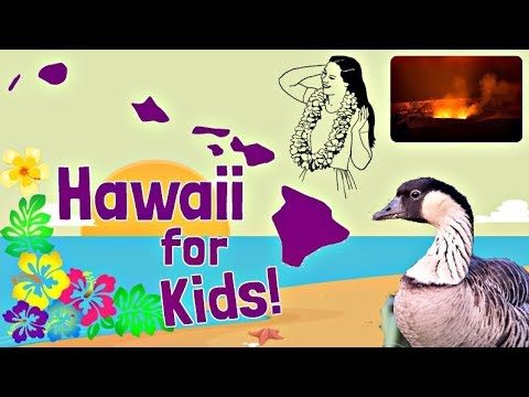 Hawaii for Kids | US States Learning Video
