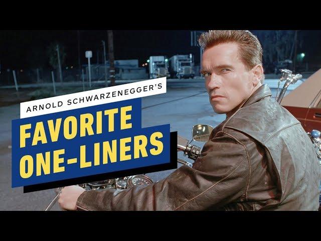 Arnold Schwarzenegger nos cuenta sus frases favoritas + vídeo