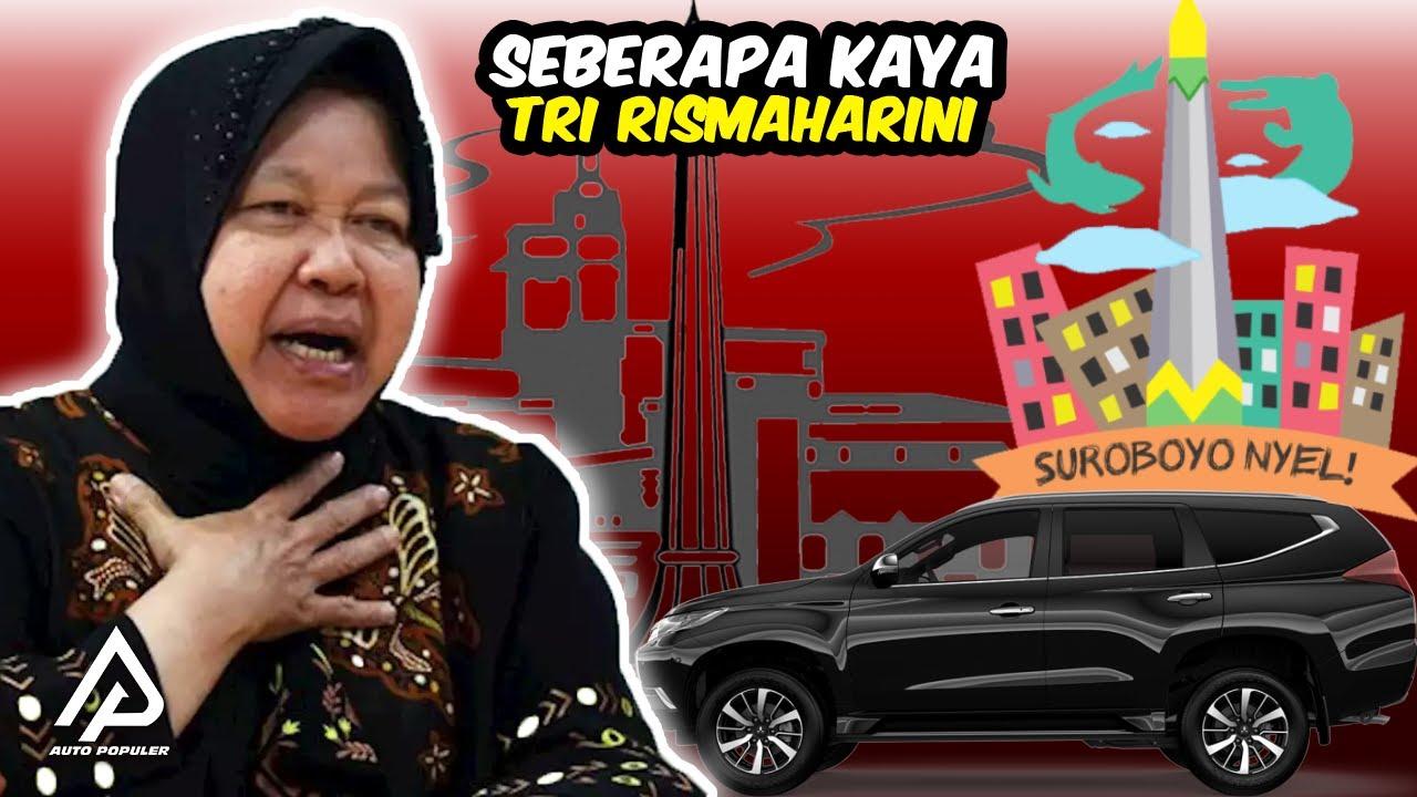Jadi Wali Kota Surabaya Paling Tegas,! Begini Koleksi Mobil Mewah dan Kekayaan Tri Rismaharini