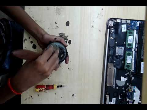 Laptop Overheating And Shutting Down | How To Check Laptop Fan Is Working Or Not.hp pavilion display