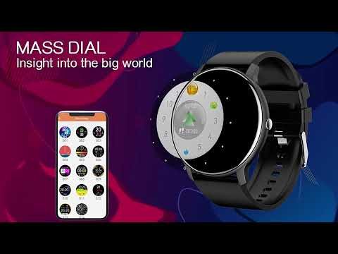 LIGE Nowy inteligentny zegarek dla mężczyzn i kobiet, w pełni dotykowy ekran.  w 10 dni paczkomatem!