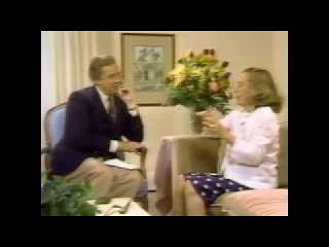 Ruth Gordon, Hugh Downs, 1981 TV