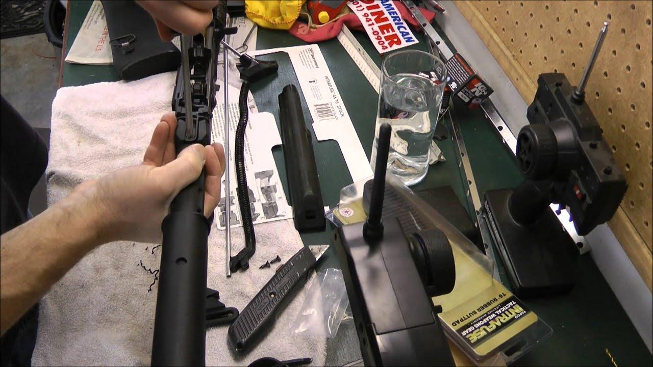 AK-47 Tapco Stock - YouTube
