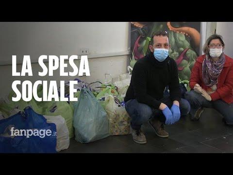 """Coronavirus Napoli, i volontari della spesa sociale: """"Noi in campo prima del governo, Conte estenda"""