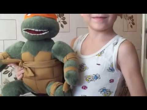 Черепашка ниндзя Микилянджело Teenage mutant ninga turtles и киндер сюрприз Спорт Киндерино Водолаз