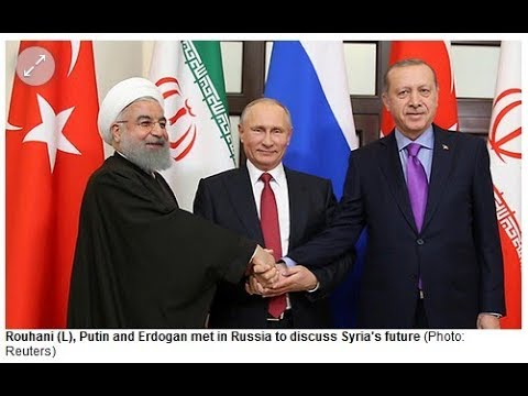 Russia, Iran & Turkey Quietly Surrounding Israel, Middle East!