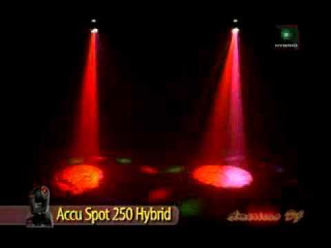 American DJ Accu Spot 250 II   Video 1