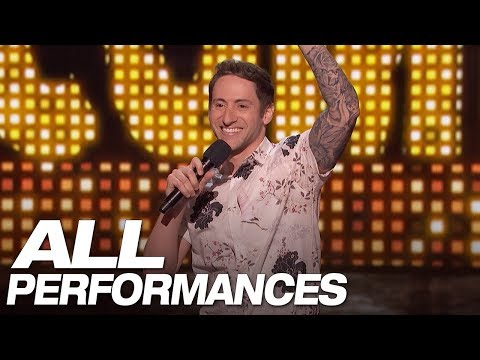 All Of Samuel J. Comroe's Full Performances On AGT – America's Got Talent 2018