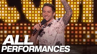 All Of Samuel J. Comroe\'s Full Performances On AGT - America\'s Got Talent 2018