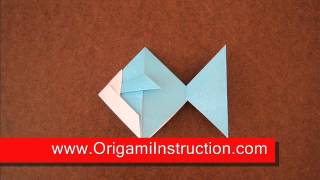 Origami Instructions Origami Goldfish