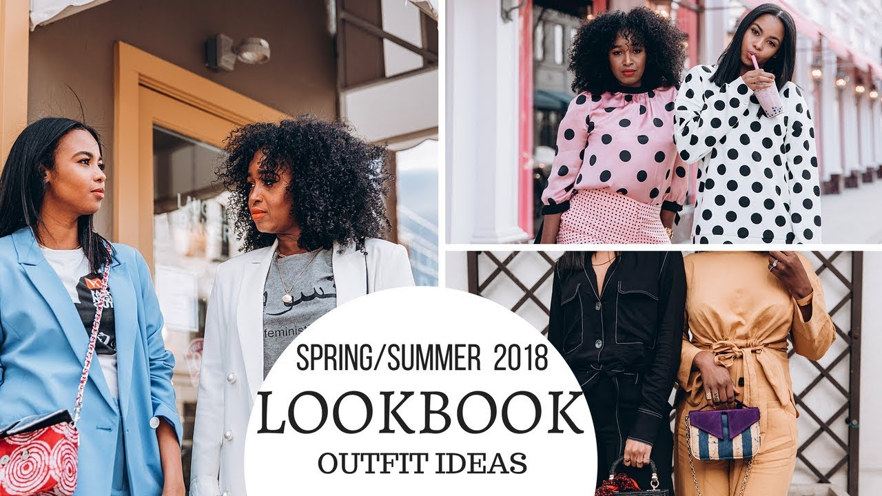 3c0041c9ddd SPRING SUMMER 2018 LOOKBOOK   OUTFIT IDEAS - YouTube