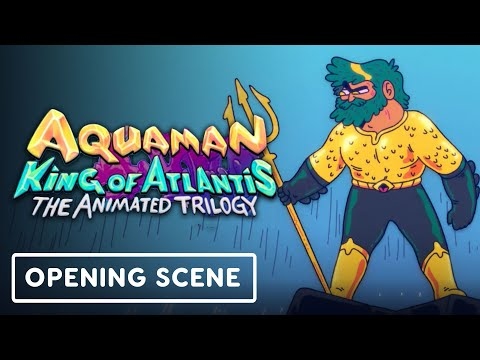 Aquaman: King of Atlantis - Exclusive Opening 4 Minutes (2021) Cooper Andrews, Gillian Jacobs