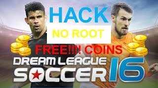 How to hack Dream League Soccer 16 (No Root)