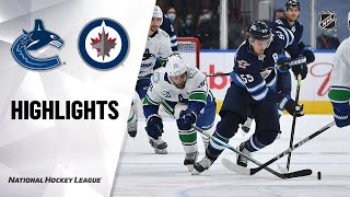 Nhl Exhibition Highlights | Canucks @ Jets 07/29/20