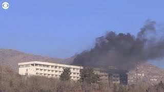 Seige on Kabul's Intercontinental Hotel, with at least 5 killed and 146 people rescued