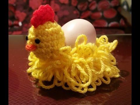 Gallina Amigurumi Uncinetto : Gallina alluncinetto portauovo - Gadget Pasqua - gallina ...