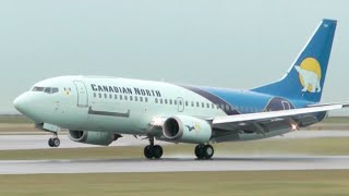 Canadian North Boeing 737-300 Classic Landing at YVR