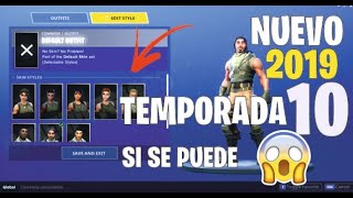 🔴 HOW TO CAMBIAR TU SKIN DE NOOB ¡ * WORKS * EN FORTNITE | | Sin Skin Tururu | | SEASON 10 🔴