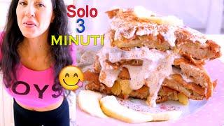 TORTA DI MELE in PADELLA!!! Sana e Veloce, Pronta in 3 MINUTI!!! | Carlitadolce Cucina - Apple Cake