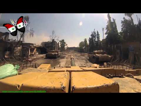 FSA vs TANKS in Syria Party Hard T 72&BMP   Syrian Civil War 2014