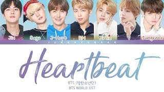 BTS (방탄소년단) - HEARTBEAT (BTS WORLD OST) 「Color Coded Lyrics_Han/Rom/Eng」