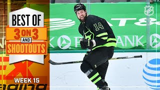Best 3-on-3 Overtime and Shootout Moments from Week 15 | NHL