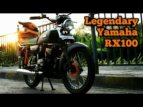 Legendary Yamaha RX100 | 1994 Rebirth | Walkaround | Black Beauty Restored | 2 Stroke Madness