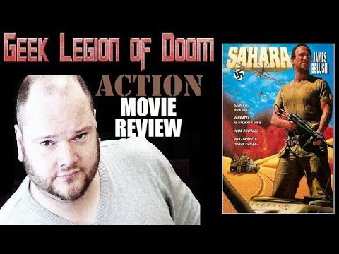 SAHARA ( 1995 James Belushi ) World War II Action Movie Review