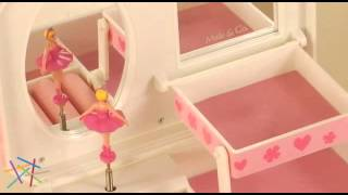 Coral Musical Jewelry Box - Product Review Video