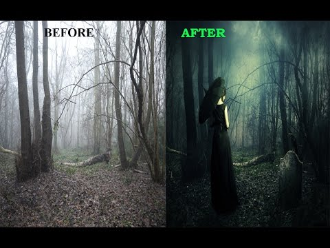 Create  Dark & Mysterious Photo Manipulation Effect in Photoshop