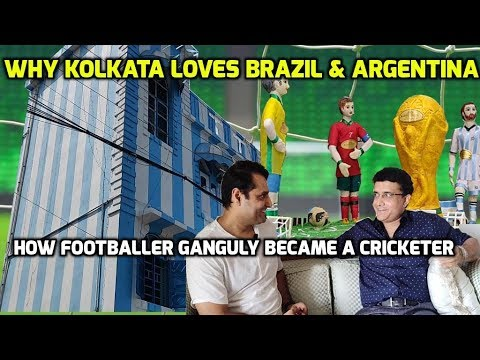 HOW FOOTBALLER SOURAV GANGULY BECAME A CRICKETER