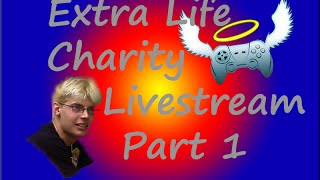 Raging For Charity?! | I Wanna Be The Guy | Extra Life Livestream Pt 1