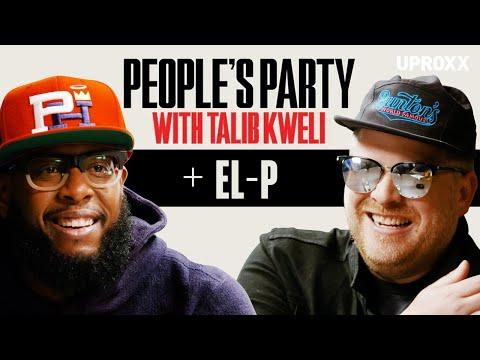 Talib Kweli And El-P Talk Run The Jewels 4, Killer Mike, Company Flow, & Rawkus | People's Party