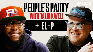 Talib Kweli And El-P Talk Run The Jewels 4, Killer Mike, Company Flow, & Rawkus | People's Party