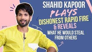 Shahid Kapoor reveals what he would STEAL from SRK, Salman, Ranveer  Kabir Singh  Mere Sohneya