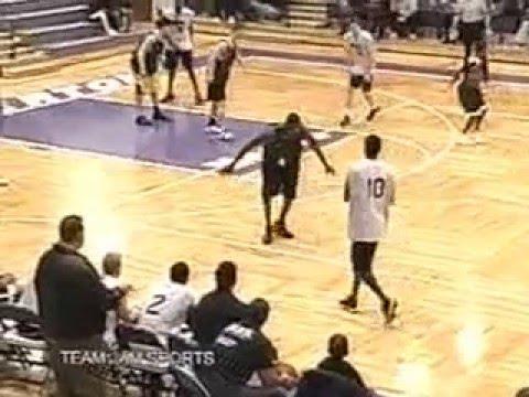 Teamjam vs. LeBron James' Team 2002